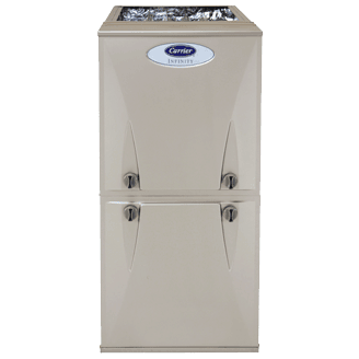 Carrier Infinity 96 gas furnace.